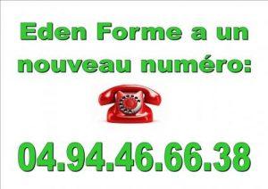 Téléphone Eden Forme