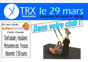 TRX vendredi 19 mars 2013