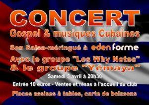 Concert Gospel & Musiques Cubaines
