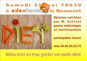 Réunion nutrition samedi 25 mai 2013