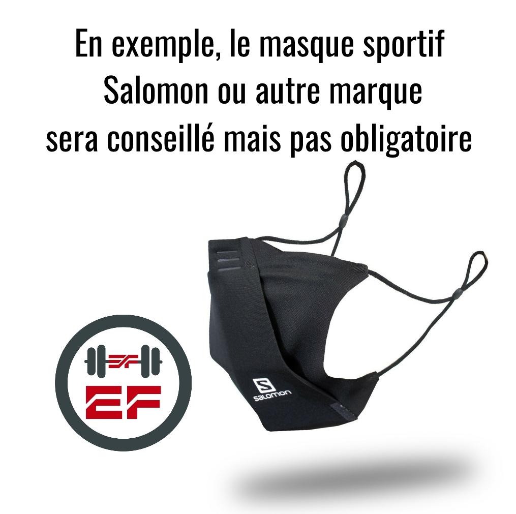 Masque sportif salle de sport Eden Forme